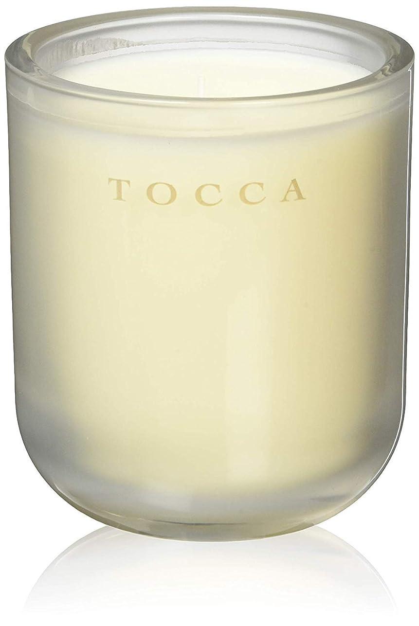 行気まぐれな評決TOCCA(トッカ) ボヤージュ キャンドル バレンシア 287g (ろうそく 芳香 オレンジとベルガモットのフレッシュシトラスな香り)