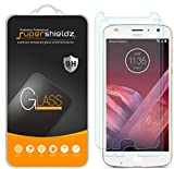 (2 Pack) Supershieldz for Motorola (Moto Z2 Play) Tempered Glass Screen Protector, 0.33mm, Anti Scratch, Bubble Free