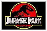 HNFT Jurassic Park - Placa de metal pintada moderna para decoración de pared, diseño de pub retro