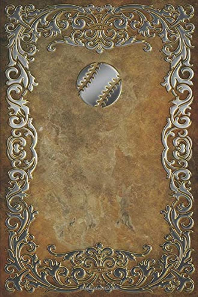 組み合わせ不機嫌そうな便益Monogram Baseball Journal (Monogram Rustic 365 Lined)