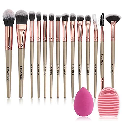 Brochas Ojos Maquillaje marca MAANGE