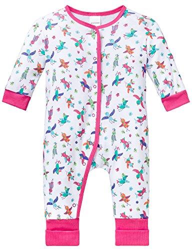Schiesser Schiesser Baby-Mädchen Anzug mit Vario Fuß Zweiteiliger Schlafanzug, Mehrfarbig (Multicolor 904), 68