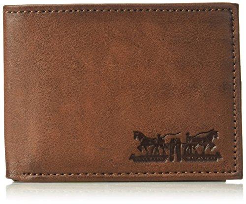Levi's mensB01GLB8G5CRfid Portemonnaie mit Zwei Pferden Gr. Einheitsgröße, braun