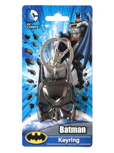 DC Schlüsselanhänger Batman-Maske, Zinn, mehrfarbig, 2,5 cm