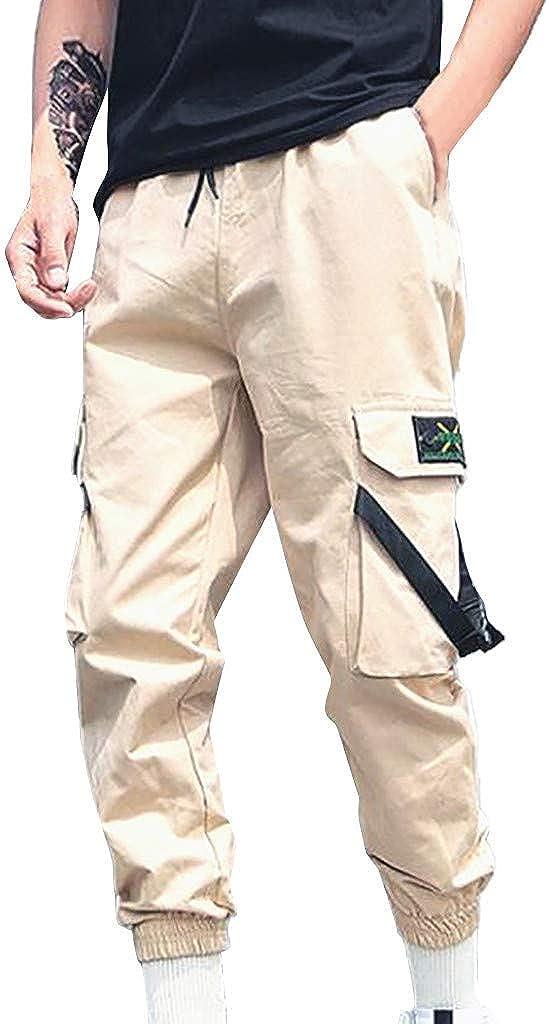 Women High Waist Casual Long Pants Loose Drape Oversize Bandage Trousers Plus