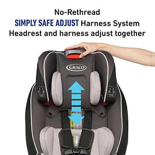 Graco SlimFit 3 in 1 Car Seat | Slim & Comfy Design Saves Space in Your Back Seat, Anabele