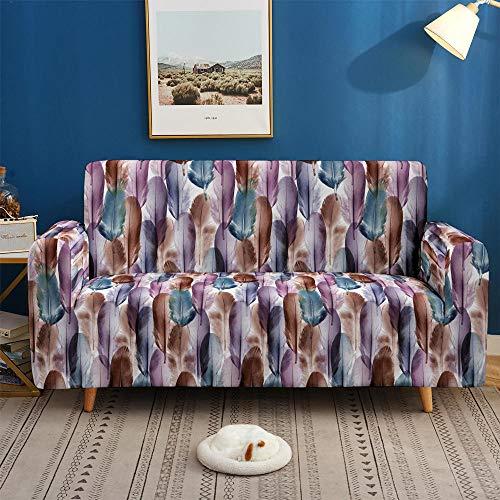 HXTSWGS Sofa Cover Protección de Muebles,Fundas de sofá 3D, Funda de sofá elástica Antideslizante para Sala de Estar Funda de sofá en Forma de L-SF 020_3 plazas 190-230cm