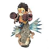 VNNY 20cm de una Pieza Monkey D Luffy LIU Miyagi Fish Ver Anime Figura de acción Modelo PVC Estatua...
