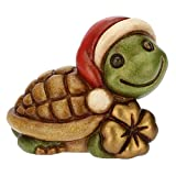 THUN ® - Mini Tartaruga Portafortuna - Ceramica - h 3,6 cm - Linea I Classici