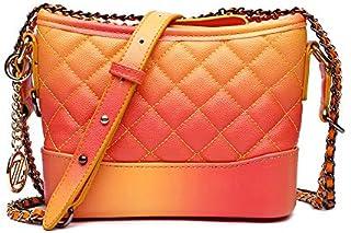 Zeneve London Womens Crossbody Bag, Orange - 1191315000