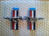 Mustang Emblems OEM lado izquierdo/derecho para todos los modelos de Ford Mustang universal 2pc Set