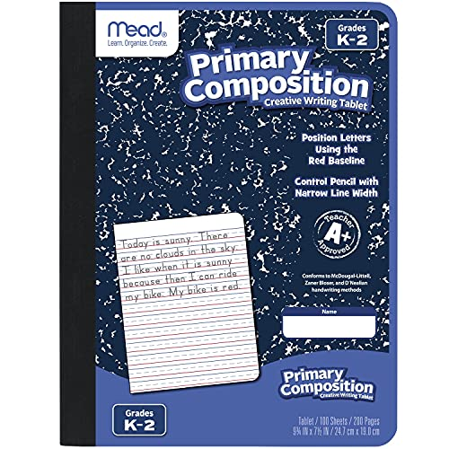 Mead Primary Composition Notebook Now $2.99 (Was $5.99)