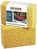 ALCLEAR 6080WS 2er Set Auto Waschschwamm, Jumbo Autoschwamm für Autopflege,...