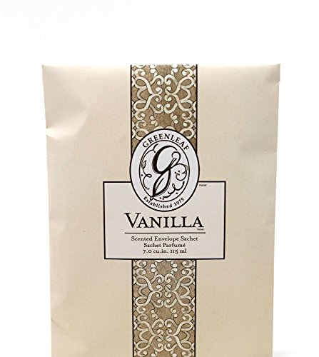 Unbekannt Greenleaf - Duft-Sachet Duftsäckchen Dufttüte Duftgranulat Duftbeutel Vanilla