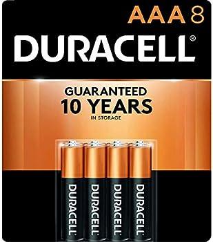 8-Count Duracell CopperTop AAA Alkaline Batteries