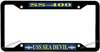 Universal Car License Plate Frame Aluminum Metal 4 Holes & Free Screw Caps for US Standard