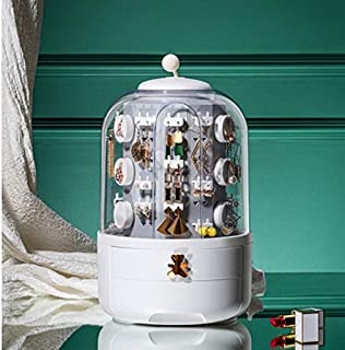 FANPING Cosmetics Jewellery Organizer Box (Color : Green)