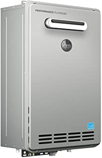 Rheem ECOH200XLN-2 Performance Platinum 9.5 GPM Natural Gas High Efficiency Outdoor Tankless Water Heater