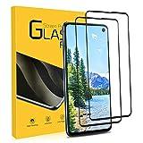 NONZERS Cristal Templado para Samsung Galaxy S10E 9H Dureza, Resistente a Araaozos y Golpes, Sin Burbujas, Anti Dactilares, 2 Unidades Compatible con 3D Touch Protector para Samsung Galaxy S10E