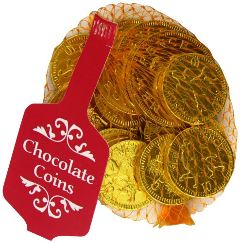 Creme D'Or Gold Net of Milk Chocolate Coins 50 g