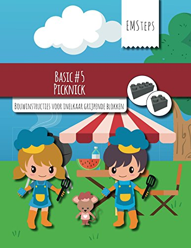 EMSteps #05 Picknick: Bouwinstructies voor inelkaar grijpende blokken (EMSteps Basic Book 5) (Dutch Edition)