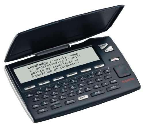 Franklin Electronics MWD-465 Merriam-Webster's Intermediate Dictionary Electronic Reference Device