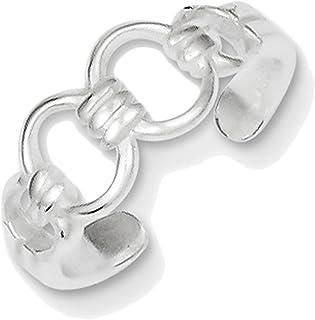 Lex & Lu Sterling Silver Toe Ring LAL22740