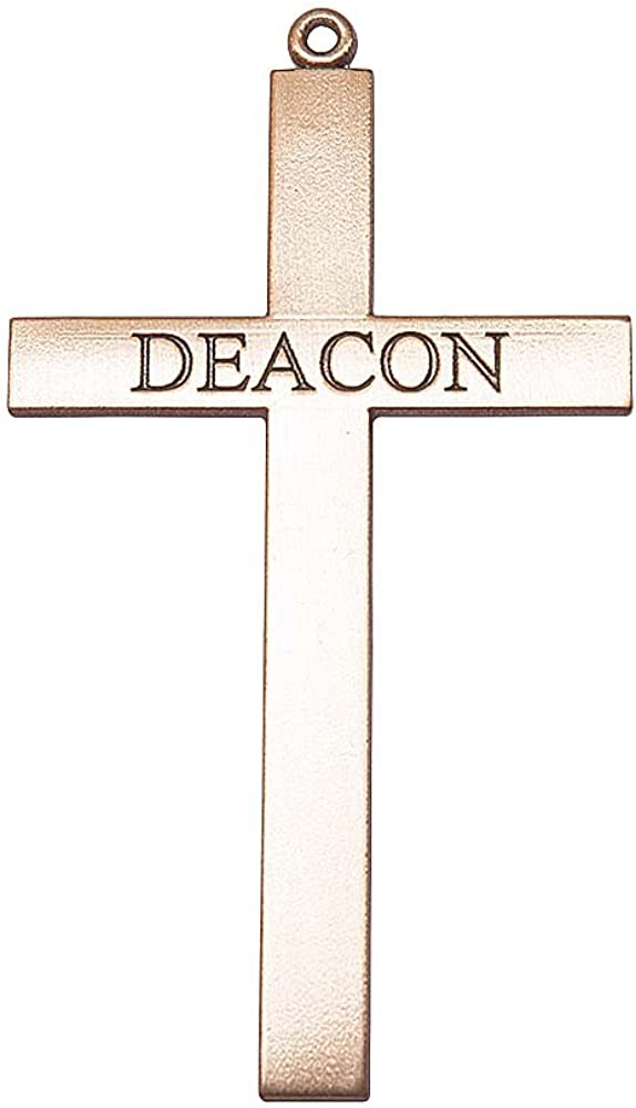 F A Super Special SALE held Dumont 14kt Gold Deacon Deluxe Cross Bo Medal. Includes flip Manufacturer regenerated product