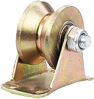 1 x V-Groove stalen wiel, robuuste wielen, geleiderol, voor deurkozijnen, winkelwagens, industriële machines, rolwagens, v...