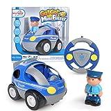 Maximum RC - RC Polizeiauto für Kleinkinder - abschaltbare Sound- und Musikeffekte - RC Auto für Kinder ab 3 Jahren -
