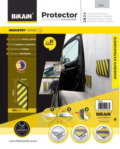 Bikain BI2122 Protection latérale 80 x 25 cm – XXL – 1 unité, Noir