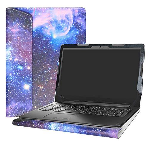 Alapmk Diseñado Especialmente La Funda Protectora de Cuero de PU para 15.6' Lenovo IdeaPad 310 15 310-15ABR 310-15ISK 310-15IKB & IdeaPad 510 15 510-15isk 510-15ikb Ordenador portátil,Galaxy
