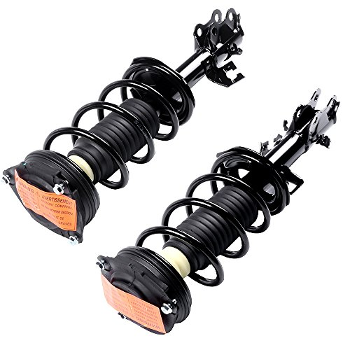 Complete Struts Shock Absorbers Fits for 2007 2008 2009 2010 2011 2012 for Nissan Versa cciyu 172352 172351 Quick Struts Assembly Front Pair Struts