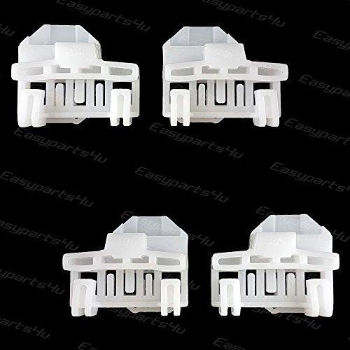 4x Fensterheber Clips Reparaturset für VW Passat B5 1996-2005 / Frontscheibenheber 2x links + 2x rechts /