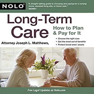 Long-Term Care: How to Plan & Pay for It cover art
