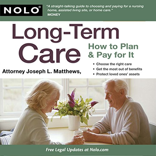 Long-Term Care: How to Plan & Pay for It audiobook cover art