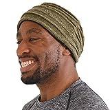 Charm Casualbox Maglione Headband Con Organico Cotone Turbante Moda Capelli Fascia Uomo Da Donna Fatto In Giappone Cachi