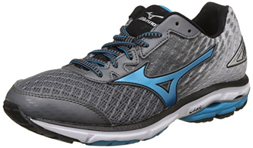 Mizuno Men's Wave Rider 19 Grey Running Shoes-7 UK/India (40.5 EU) (J1GC160323)