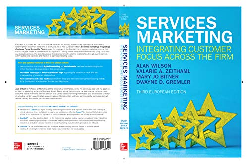EBOOK: Services Marketing: Integrating Customer Focus Across the Firm (UK Higher Education Business Marketing) (English Edition)