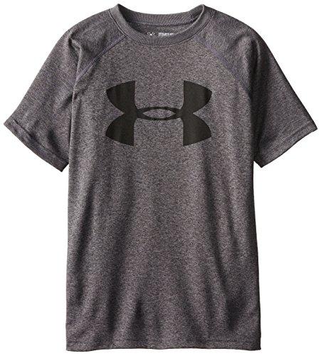 Under Armour 1228803_ 090Tech Big camiseta de deporte para niño Carbon Heather fr: S (talla fabricante: YSM)
