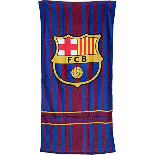 FC Barcelona Badetuch 70x140 cm (Stripes)