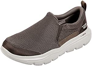 Skechers mens Go Walk Evolution Ultra - Impeccable Sneaker, Khaki, 13 US