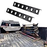 vikofan 6-Tool Landscape Truck Trailer Rack Tool Storage Rack Shovel Rack