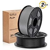 ➽【Tangle Free& No Plugging】 Better flow of SUNLU no plugging premium 1.75mm PLA+ filament. It has consistent diameter & roundness, less stringing and warping, strong layer adhesion. Article-free and impurity-free. 100% New Virgin Material FROM Korea....