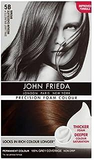 ミディアムチョコレートブラウン5Bのジョン?フリーダ精密泡カラー (John Frieda) (x2) - John Frieda Precision Foam Colour 5B Medium Chocolate Brown (Pack of 2) [並行輸入品]