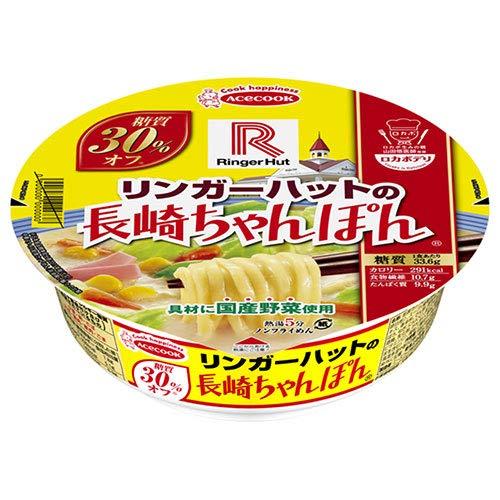 エースコック ロカボデリ リンガーハットの長崎ちゃんぽん 糖質オフ 85g×12個入