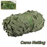 Red de camuflaje militar para caza, camuflaje, camuflaje, para acampada, solárium, 2 x 3 m, verde, 2x3m/6x10ft