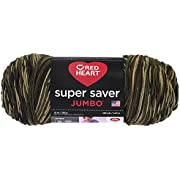 RED HEART Super Saver Jumbo Yarn, Camouflage