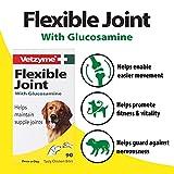 Vetzyme flexible Gelenke für Hunde Tabletten (Pot-Größe: 90 Tabletten), einen Artikel - 2