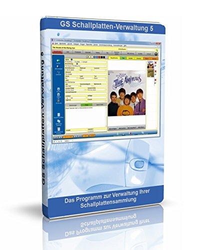 GS Schallplatten-Verwaltung 5 - Software zur Verwaltung Ihrer Schallplattensammlung - Datenbank Programm zur Verwaltung von Schallplatten